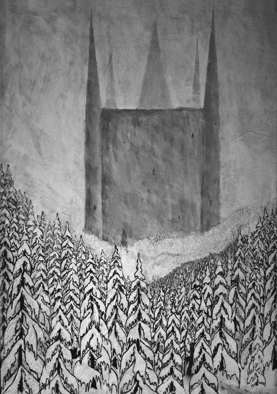 Paysage d'Hiver die Festung album cover