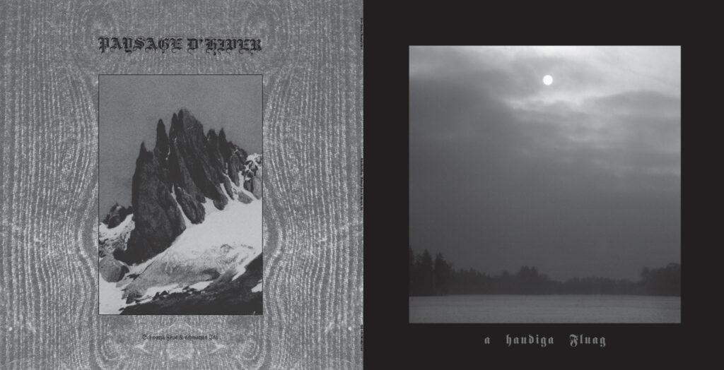 Paysage d'Hiver / Lunar Aurora - schwarzä Feus & schwarzäs Isä / A haudiga Fluag (2004) album cover